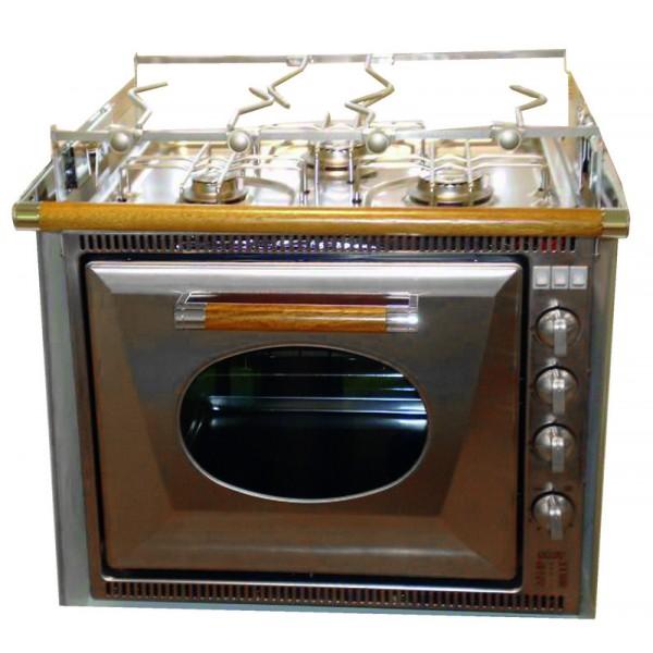 Forno con grill e piano cottura a 3 fuochi SMEV | laltraranda.it