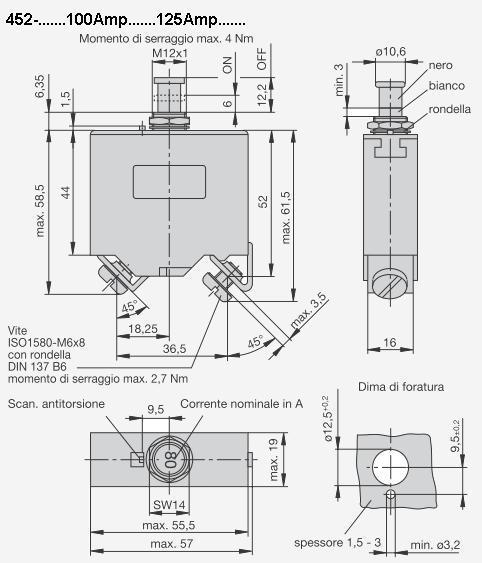 Lofrans Interruttore Magneto-Idraulico